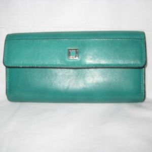 Women's Lodis Green Wallet
